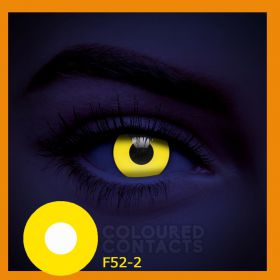 LENS COSPLAY YELLOW  F52-2